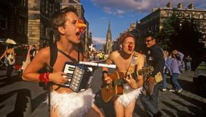 Street Performers at Edinburgh Festival